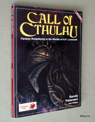 Memoirs of an Unreformed Nerd 4: The Call of Cthulhu is Calling!