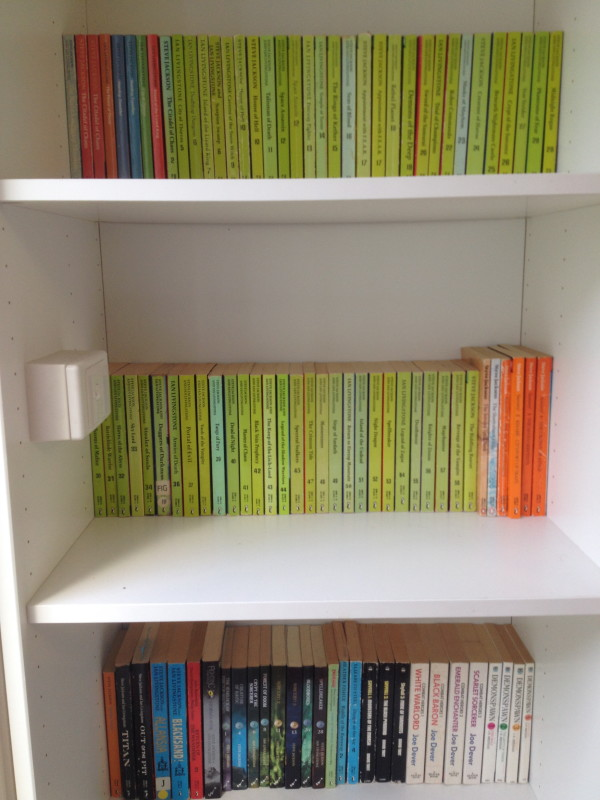 Show Us Your Epic Shelfie! A Snapshot of My Gamebook Collection