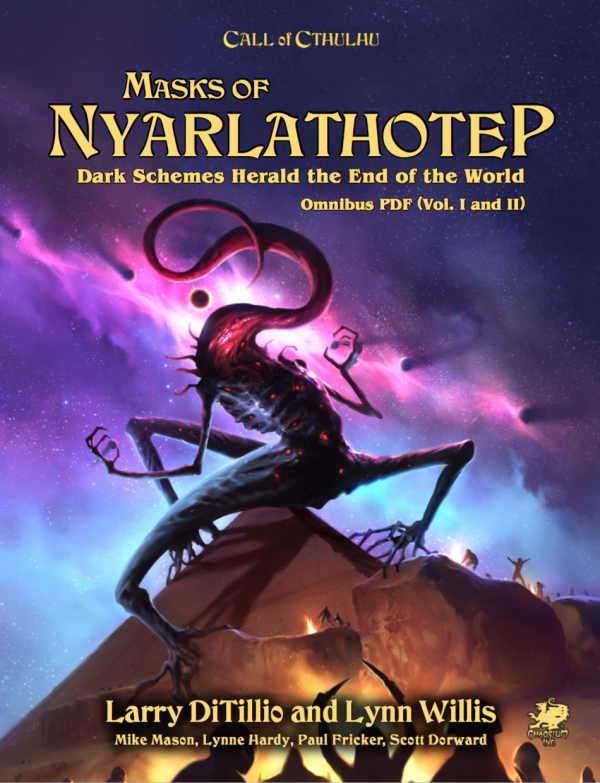 First look review – Masks of Nyarlathotep 5th Edition