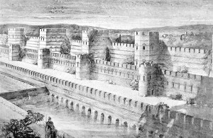 defensive-walls-of-constantinople